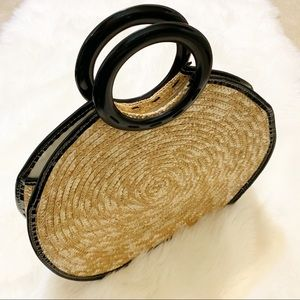 Bags - Trendy Large Straw Bag